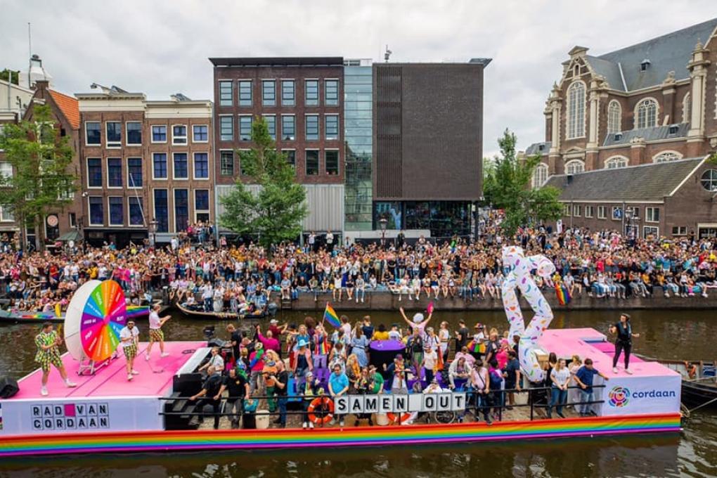 Cordaan vaart mee in de Canal Parade 2019