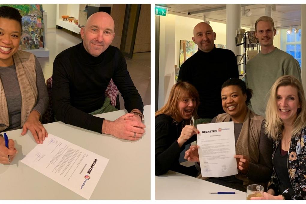 Samenwerking Theater LeBelle en DEGASTEN is officieel