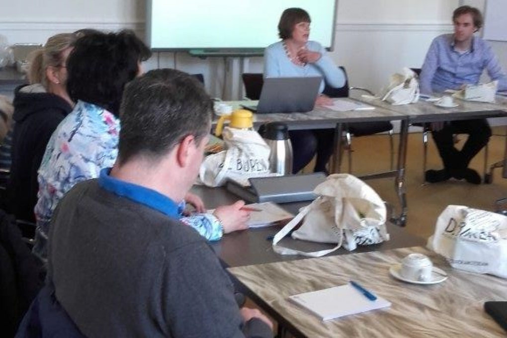 Erasmus+ partnermeeting in de Van Limmikhof