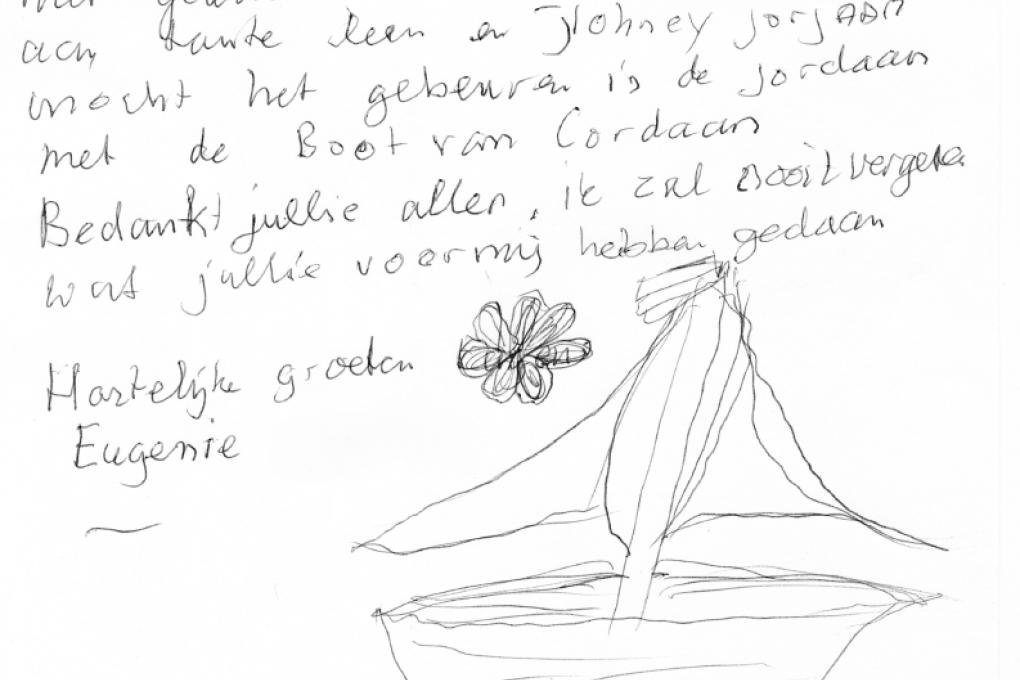 Een Rotterdamse verstekeling met zeebenen: Eugenie