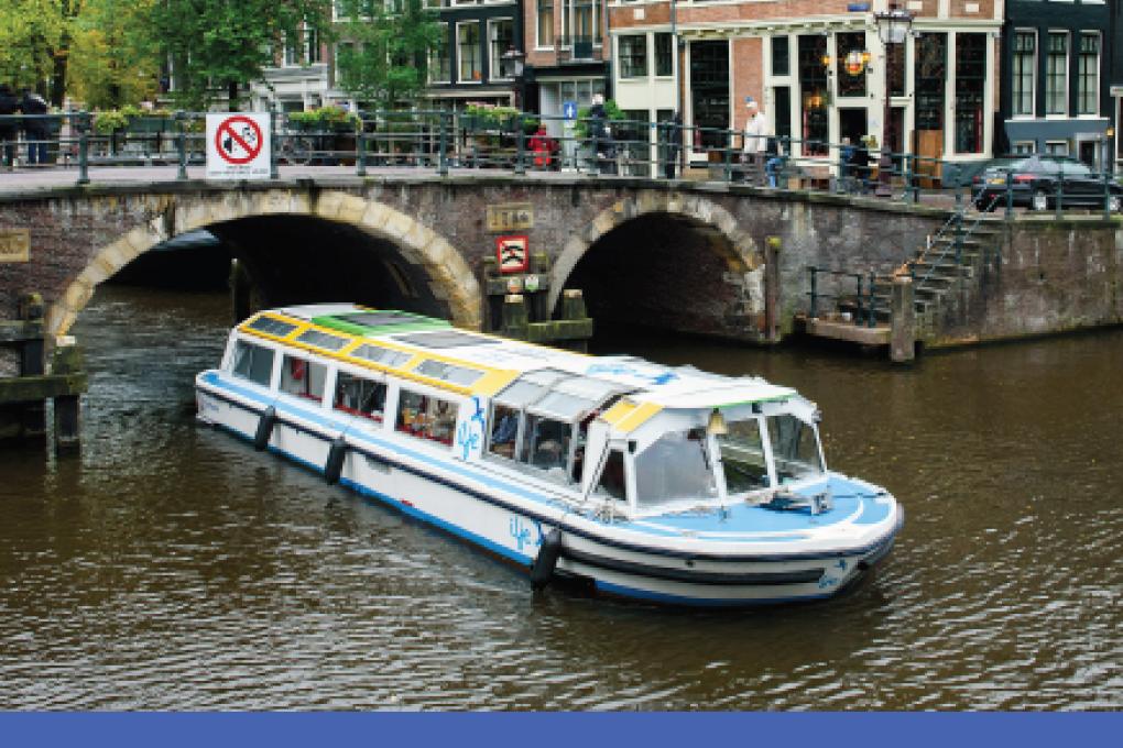 Zomeractie: rondvaart door de Amsterdamse grachten