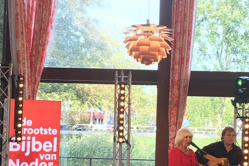 TV-opname Willeke Alberti op Berkenstede