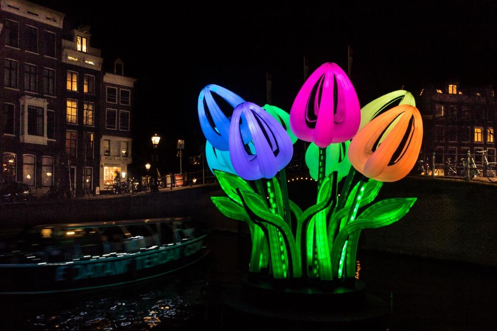 Amsterdam Light Festival: vaar mee met de Ilje!