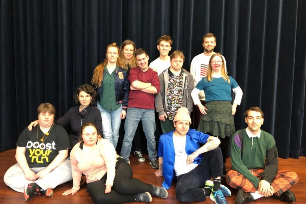 Toneelmakerij en Theater LeBelle:´Down Underground´ alsnog in première