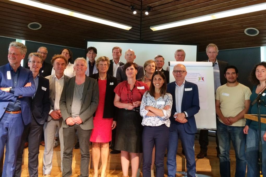 Ondertekening Amsterdamse Ontwikkelagenda voor herstel en participatie 2017 - 2022