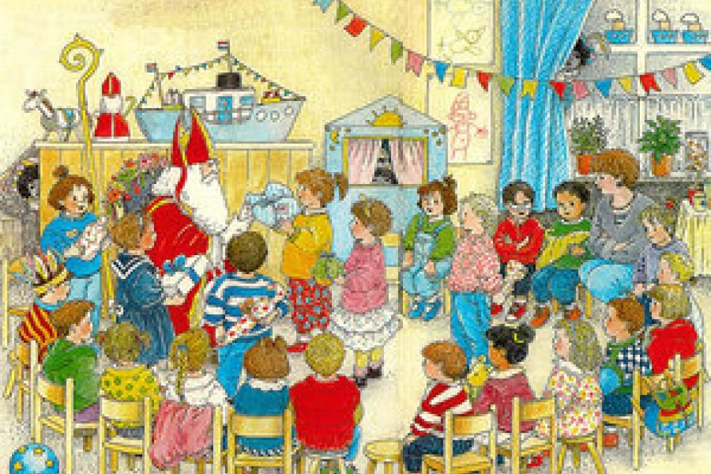"""Sinterklaasactie stichting """"Het Vergeten Kind"""""""