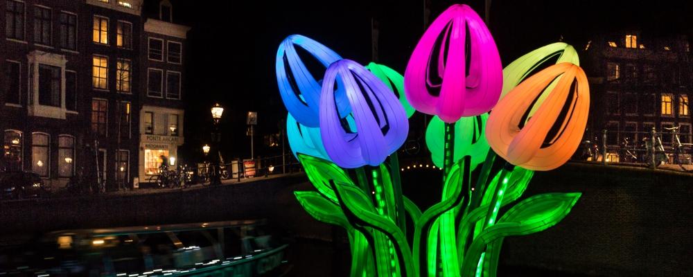 Amsterdam Light Festival: vaar mee met de Ilje