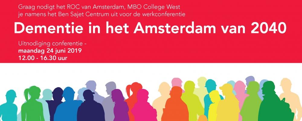 Werkconferentie: Dementie in het Amsterdam van 2040