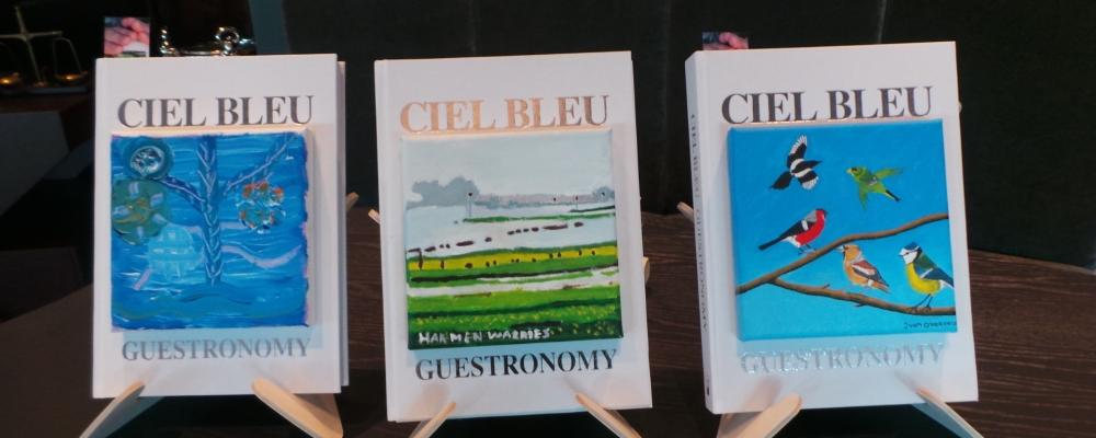 Kunstenaars van Outsider Art werken samen met sterrrenrestaurant Ciel Bleu