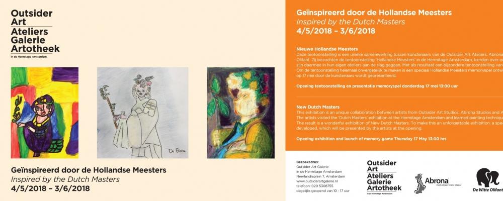 17 mei Opening 'Geïnspireerd door de Hollandse Meesters'