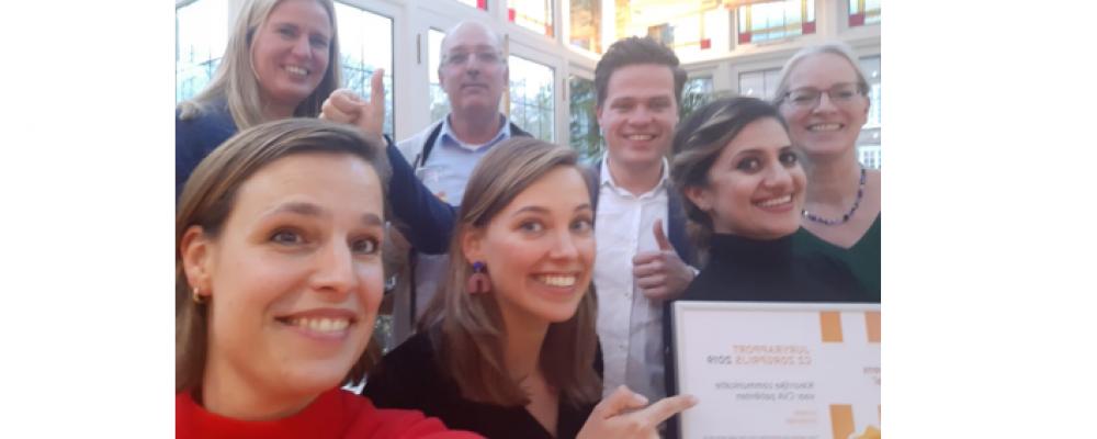 Cordaan wint CZ Zorgprijs 2019