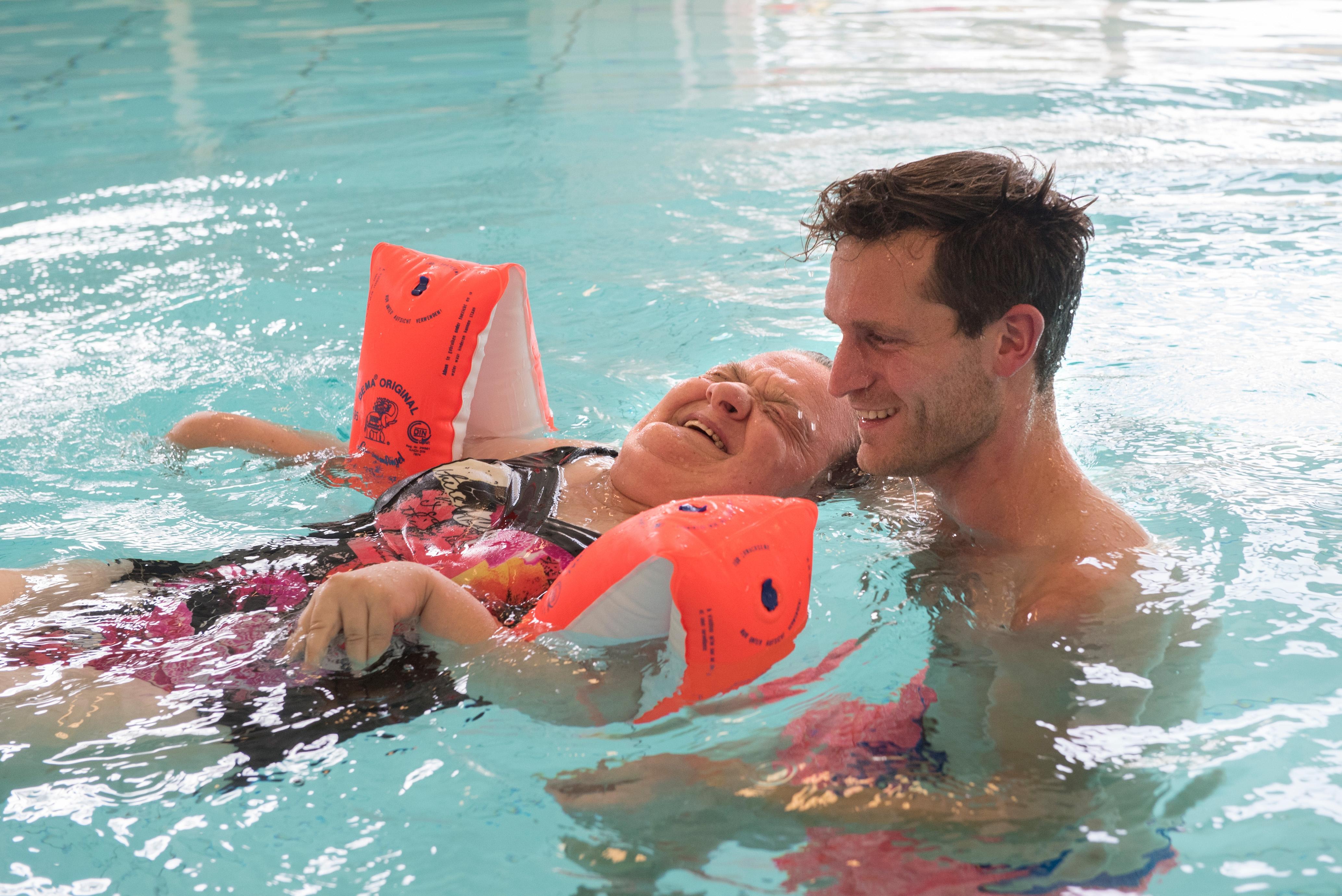 Verwonderend Hydrotherapie voor mensen met een verstandelijke beperking | Cordaan VW-05