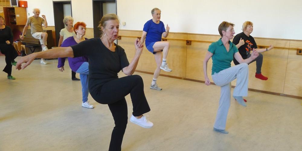 bewegen voor ouderen